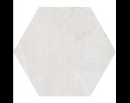 K944894R - 60X60 Tech-Slate Altıgen Random Dekor Beyaz
