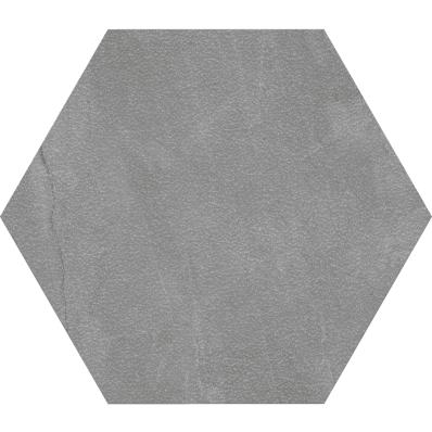 60X60 Tech-Slate Altıgen Random Dekor Koyu Gri