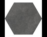 K944896R - 60X60 Tech-Slate Altıgen Random Dekor Antrasit