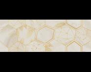 K945057R - 25X70 Opaline Dekor Krem Parlak