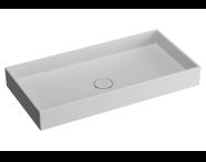 M58000001000 - Memoria Rectangular Bowl, 80 cm Infinit