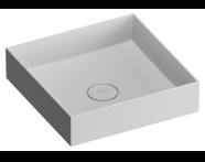 M58000004000 - Memoria Kare Çanak Lavabo, 40 cm Infinit