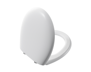 106-001-009 - Memoria Toilet Seat, Soft Closing, Matt White