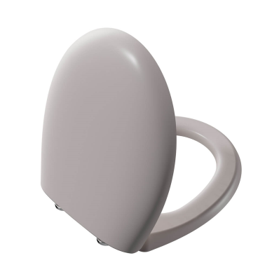 WC Seat (Soft-Closing) Matte Taupe Quick Release