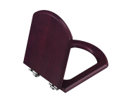 "125-013H009 - ""DP WC Seat, Soft close, wooden"""