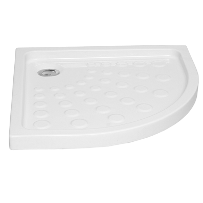 Arkitekt Corner Shower Tray, 80cm