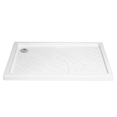 Arkitekt Rectangular Shower Tray, 120cm, Antislip