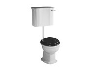4270B003-0075 - Aria  Single WC Pan with Bottom Outlet without Bidet Pipe