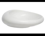 4280B470-0016 - Istanbul Countertop Washbasin, 60 cm, Black