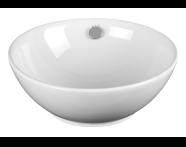 4324B003-0012 - Countertop Vanity Basin, 42 cm