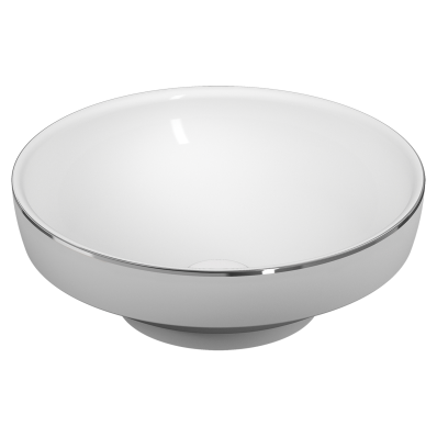 Water Jewels Bowl 40 cm Platinum Lined