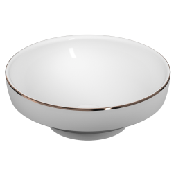 description water jewels bowl 40 cm copper lined code 4334b073 2300 vitraclean no colour white. Black Bedroom Furniture Sets. Home Design Ideas