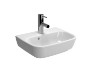 4380B003-0001 - Shift Basin, 45cm with Middle Tap Hole, with Side Holes