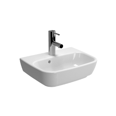 Shift Basin, 45cm with Middle Tap Hole, with Side Holes