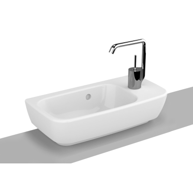 Shift Countertop Washbasin, 50x25 cm