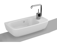 4387B003-0997 - Shift WashBasin, 50x25cm