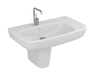 4391B003-0924 - Shift Assymetrical Basin,  75x45cm