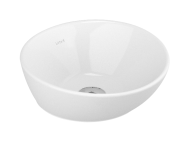 4421B003H0016 - Geo Round Bowl, 38 cm, without Tap Hole, without Overflow Hole