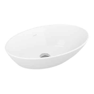 Geo Oval Bowl, 60 cm without Tap Hole, without Overflow Hole
