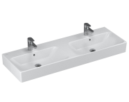 4433B003-0001 - Nuo Washbasin, with Two Bowls, 130 cm