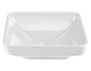 4441B003-1361 - Water Jewels Square Bowl, 40cm White
