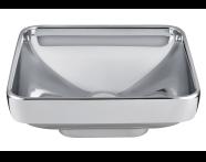 4441B071H0016 - Water Jewels Square Bowl, 40 cm