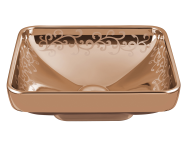 4441B073-2100 - Water Jewels Square Bowl, 40cm