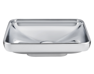 4442B071-0016 - Water Jewels Rectangular Countertop Basin, 60cm
