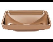 4442B073H0016 - Water Jewels Rectangular Countertop Basin, 60 cm