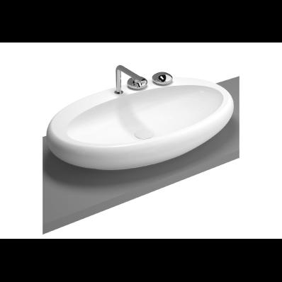Istanbul Countertop Washbasin, 85 cm, White