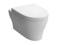 4449B003-0101 - Bella Wall-Hung WC Pan, 54 cm, Without Nozzle, White