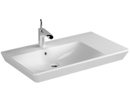 4453B003-0001 - T4 Offset Washbasin, 80 cm