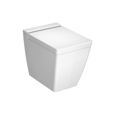 T4 Back-To-Wall Single WC Pan without Bidet Pipe