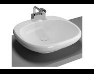 4521B003H0871 - Istanbul Countertop Basin, 56 cm, White
