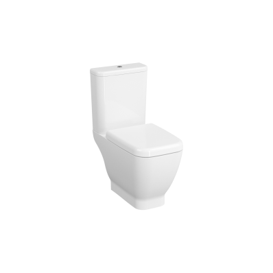 Close-Coupled WC Pan, Open-Back, 65 cm