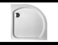 50170001000 - Harmony 80x80 cm Corner Flat