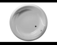 50550016000 - Helice 150 Ø Round Aqua Maxi, with 1 Light
