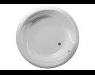 50560016000 - Helice 160 Ø Round Aqua Maxi, with 1 Light
