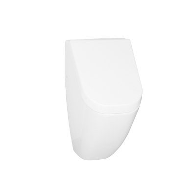 Retro Urinal with Lid Incloding Led Back Inlet, Back Output