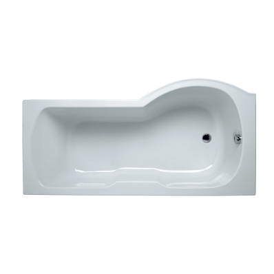 Optima 170x70 cm Shower Bathtub, Left