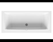 52540001000 - Neon 180x80 cm Rectangular/Double Ended Bathtub