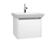 52965 - T4 Washbasin Unit, 60 cm, Hacienda Brown