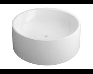 52990009000 - Istanbul 160 Ø Cylindrical Aqua Soft