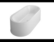 53000014000 - Istanbul 190x90 cm Oval Aqua Maxi