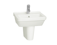 5308L003-0001 - S50 WashBasin, 45cm with Middle Tap Hole, with Side Holes