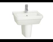 5308L003-0999 - S50 Square Cloakroom Washbasin, 45 cm