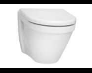 5318L003-0075 - S50 Wall-Hung WC Pan, 52cm
