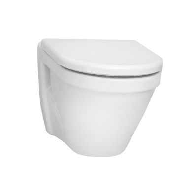 S50 Wall-Hung WC Pan, 52cm