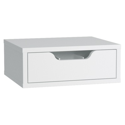 Gala Classic Tall Unit Accessory (4) - Make-Up Drawer White (Matte)