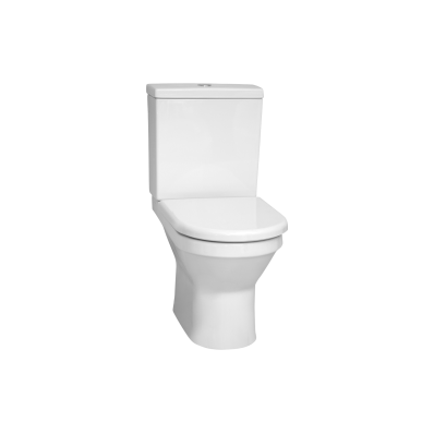 S50 Close-Coupled WC Pan, Open Back